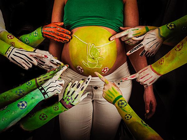 Zwangerschapsfotografie 1