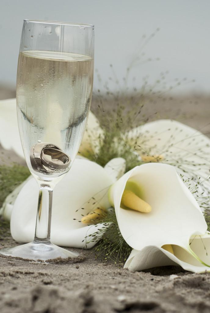 Ringen fotograferen op een bruiloft